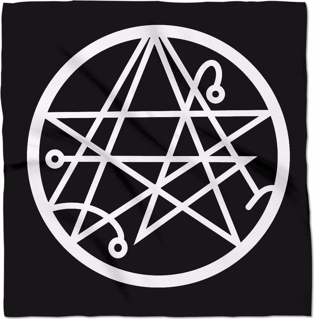 Necronomicon Seal 24 True Crime Hp Lovecraft Poe Pinterest