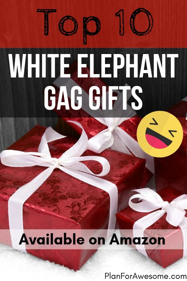 Top Ten White Elephant Gag Gifts Available on Amazon Top Ten White Elephant Gag Gifts Available on Amazon If you need fast shipping on hilarious white elephant gag gifts...