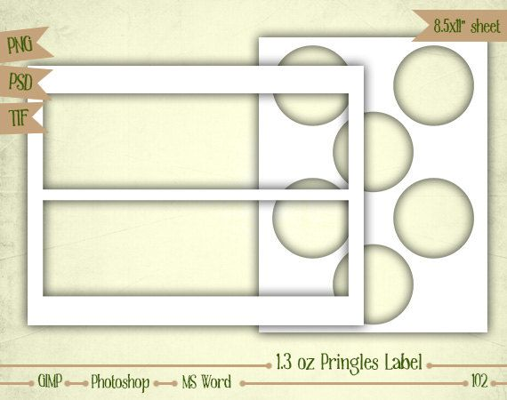 Make your own collage sheets with this Layered Template! Easy to - labels word template