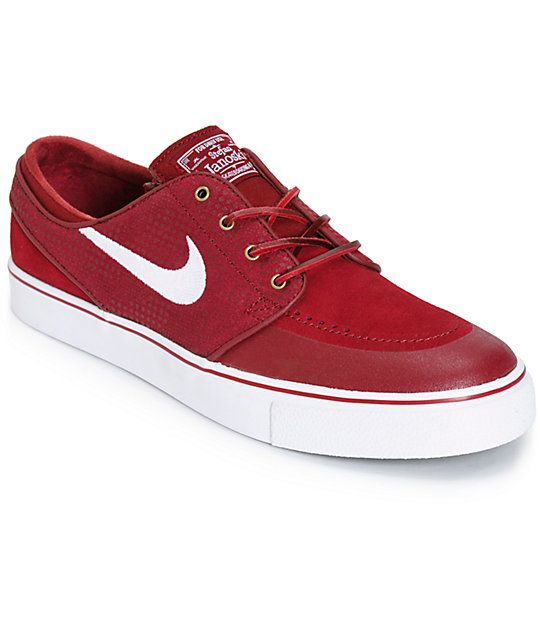 4b4f46abe168f Nike SB Zoom Stefan Janoski PR SE Team Red Skate Shoes at Zumiez   PDP