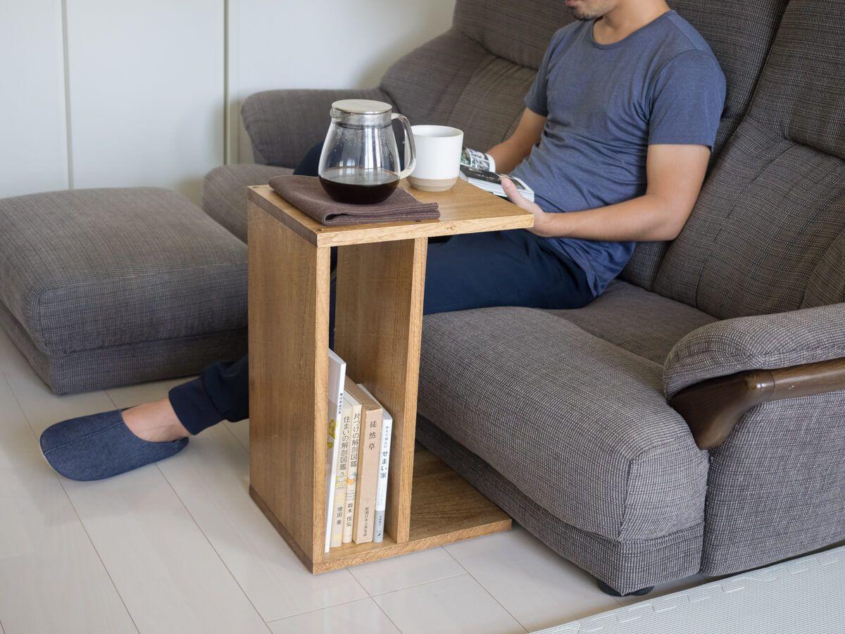 Diyしてサイドテーブルの作り方 サイドテーブル ソファテーブル Diy ローテーブル Diy
