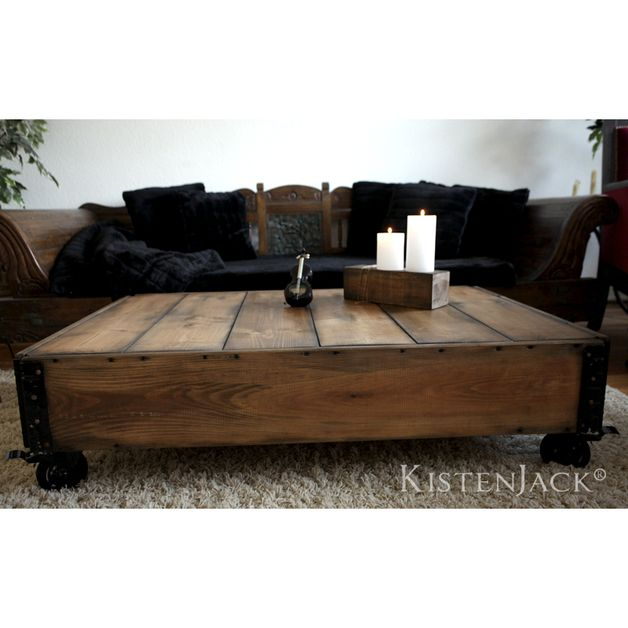 LOFT STYLE industrial Couchtisch Vintage Tisch Lofts, Industrial