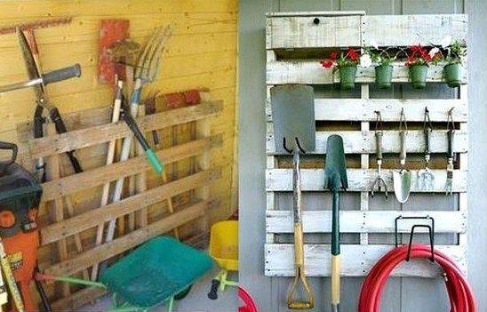 Conseils et idées pour ranger vos outils de jardinage | Outils de ...