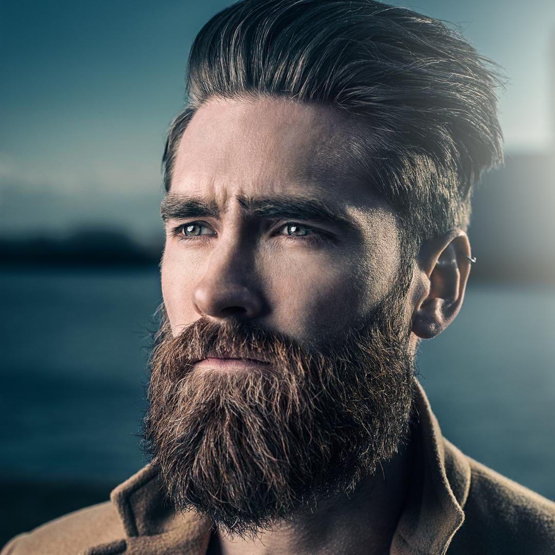 Mens short undercut haircut cool beard styles à essayer  cute guys  pinterest  hair styles