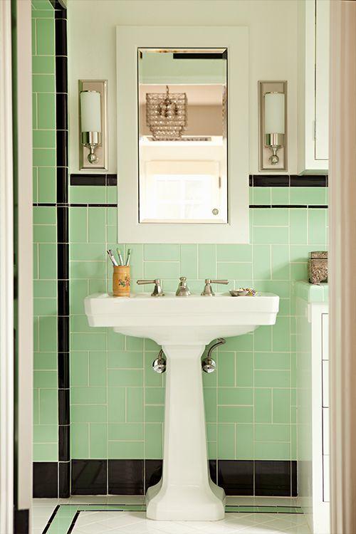 33 unique bathroom tile ideas house tastic retro bathrooms rh pinterest co uk