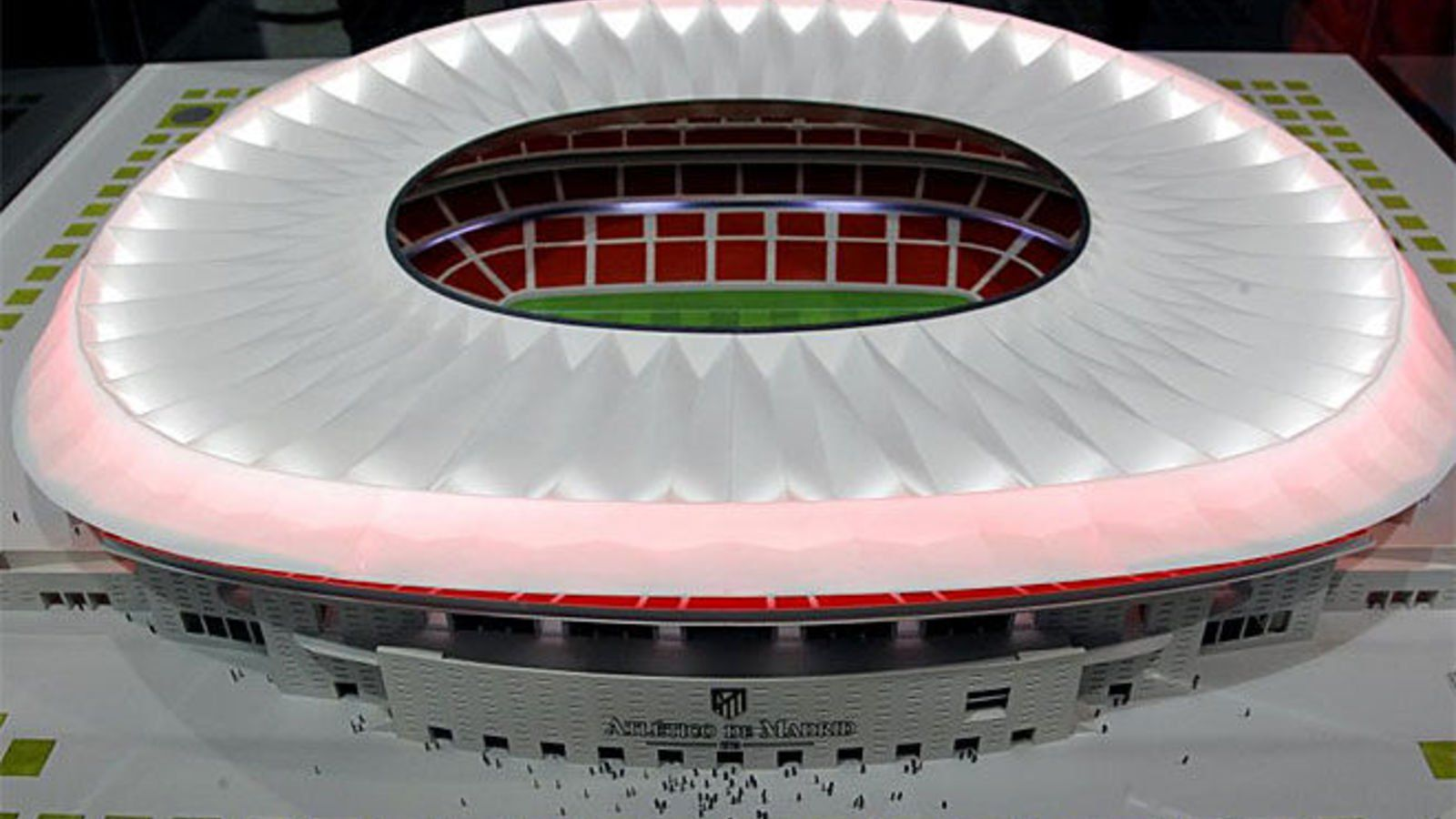 La Peineta Stadium Design Football Stadiums Stadium Architecture