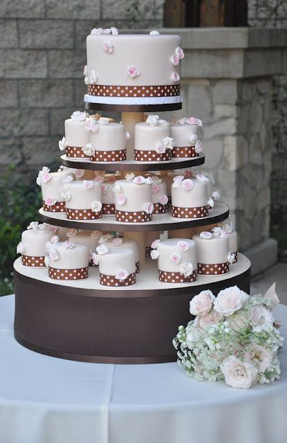 """I LOVE cupcake cakes. This """"Disney"""" one is so pretty!"""