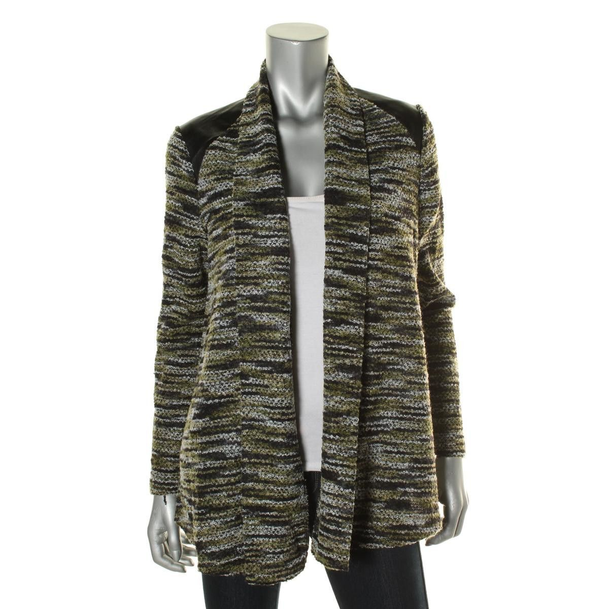 ECI Womens Knit Open Front Cardigan Sweater