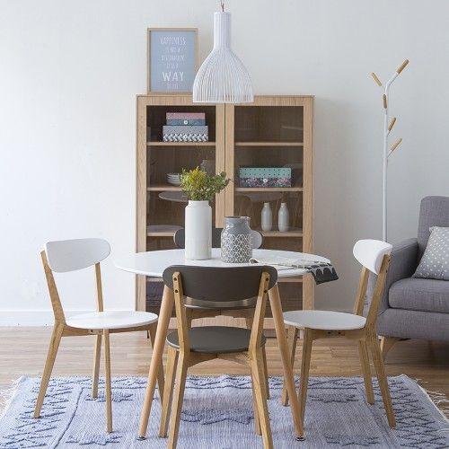 Slow mesa de comedor cocina redonda mesas tiny spaces - Mesas cocina redondas ...
