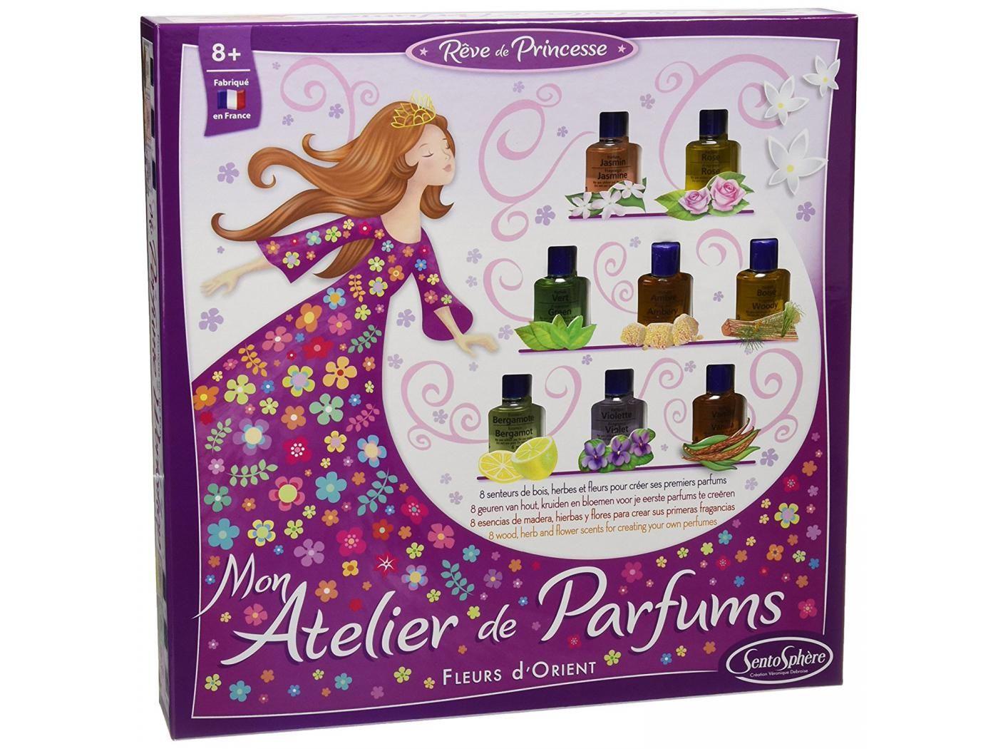 141 Mon Atelier De Parfums Fleurs Romantiques Art Decor Frame