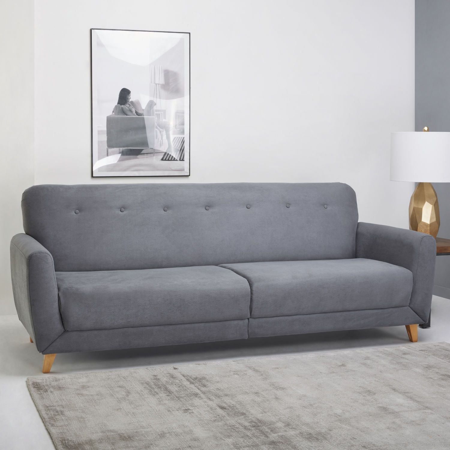 Sofa Bed Next Day Delivery London L Di Bandung Habitat Grey Couch 3 Seater Mid Century Inspired Design Discover Ideas About Camden