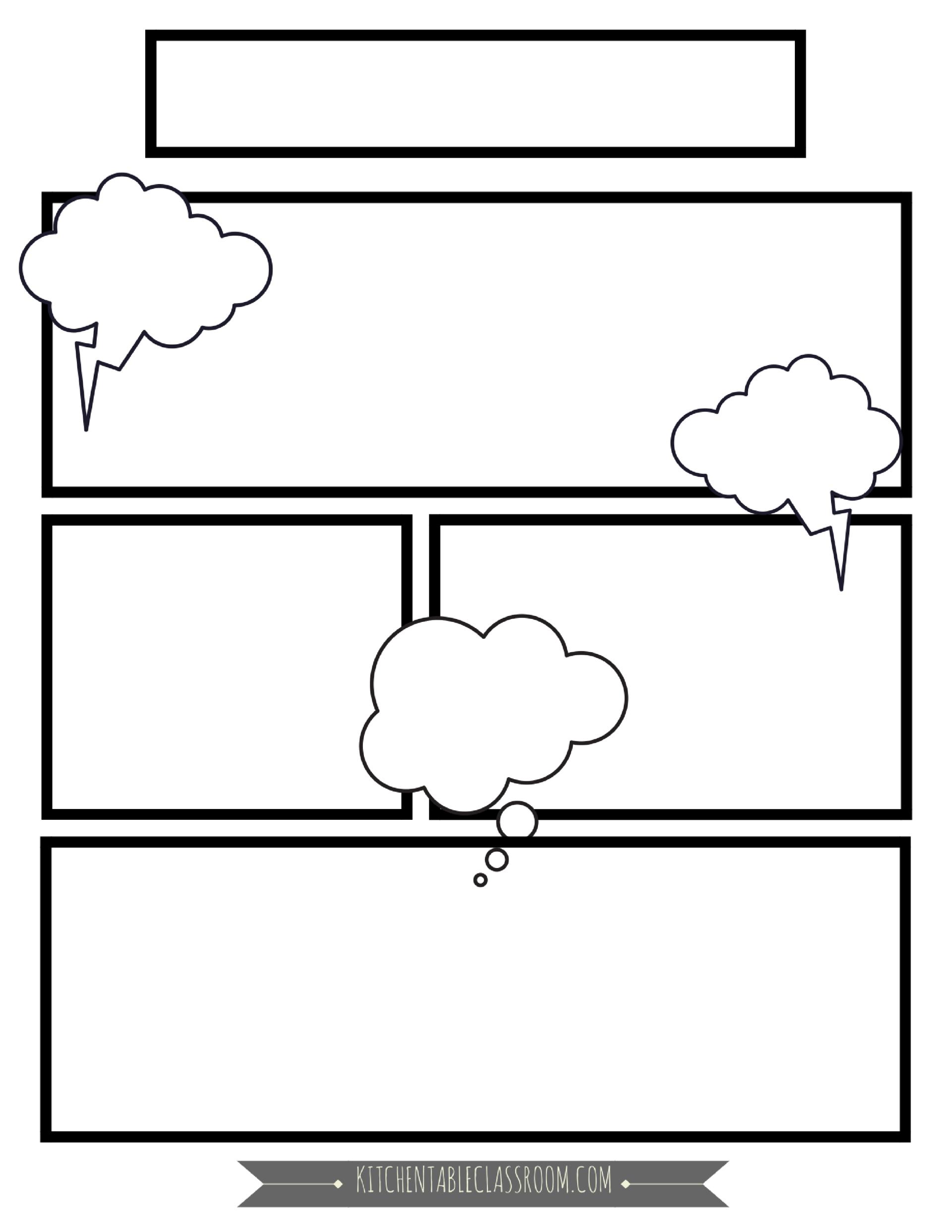 Comic Book Templates
