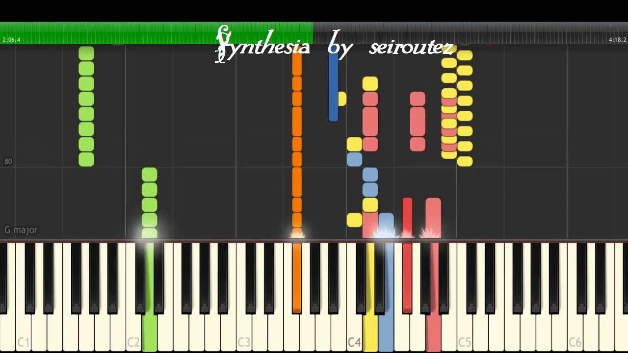 [Synthesia][MIDI] silentvoice