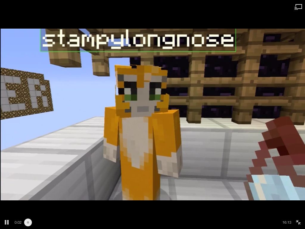 Stampylongnose Doing A Adventure Map Called The Dropper Stampy - Minecraft fubball spielen