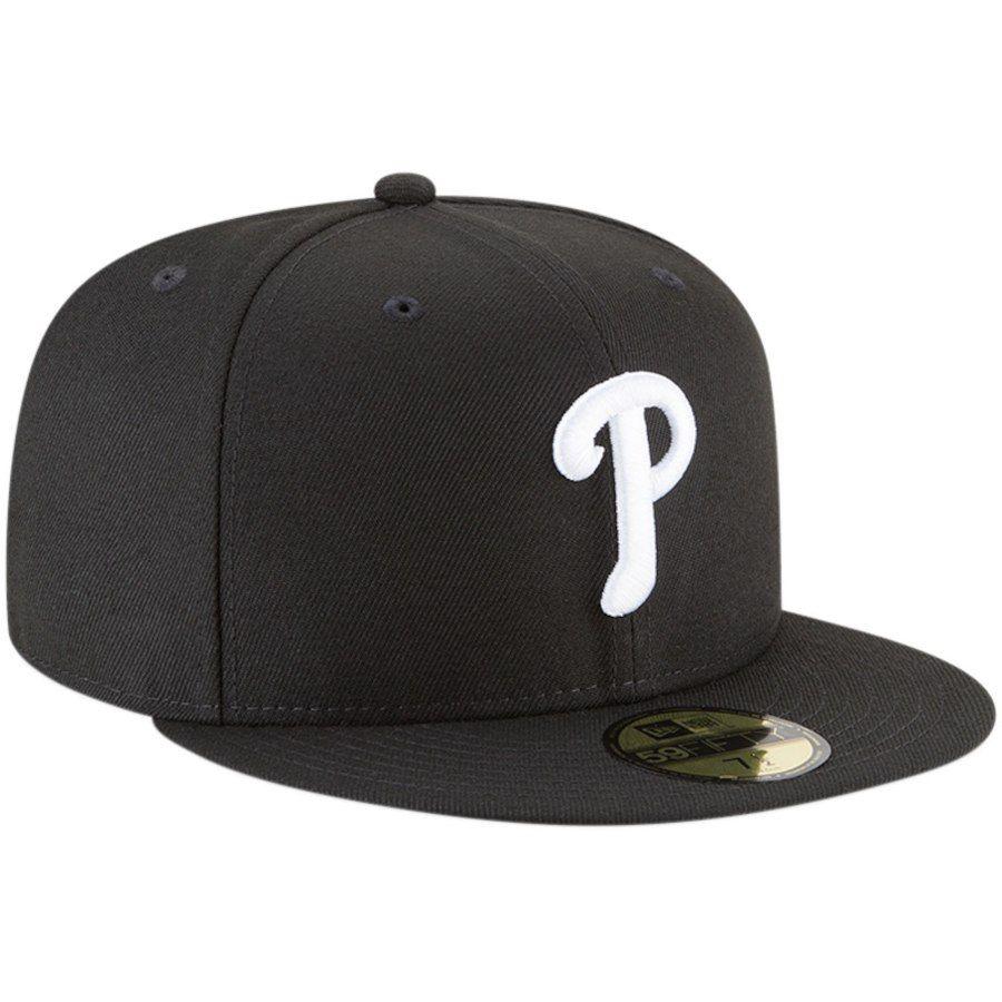 e754e090fc56f Philadelphia Phillies New Era Basic 59FIFTY Fitted Hat – Black
