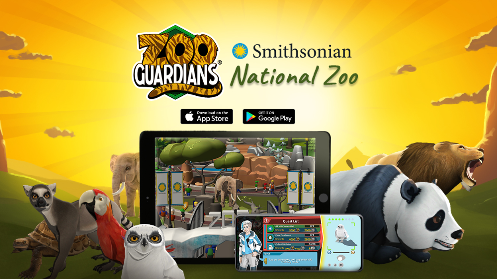Zoo Guardians A New Augmented Reality Mobile Game Conservation Biology Animal Facts Zoo
