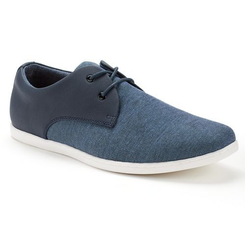 Casual Canvas Oxford Shoes