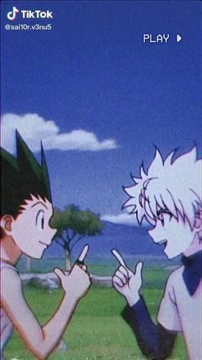 Hunterxhunter Gon and Killua AMV Creator: sai10r.v3nu5 from TikTok
