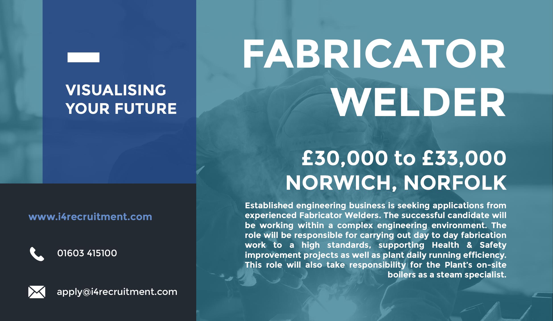 Fabricator Welder Job reference, Fabrication work