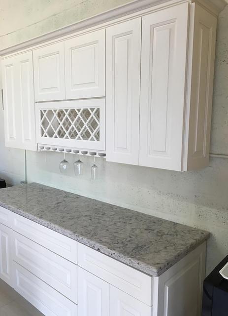 Riviera White | Kitchen cabinets, Off white cabinets ...