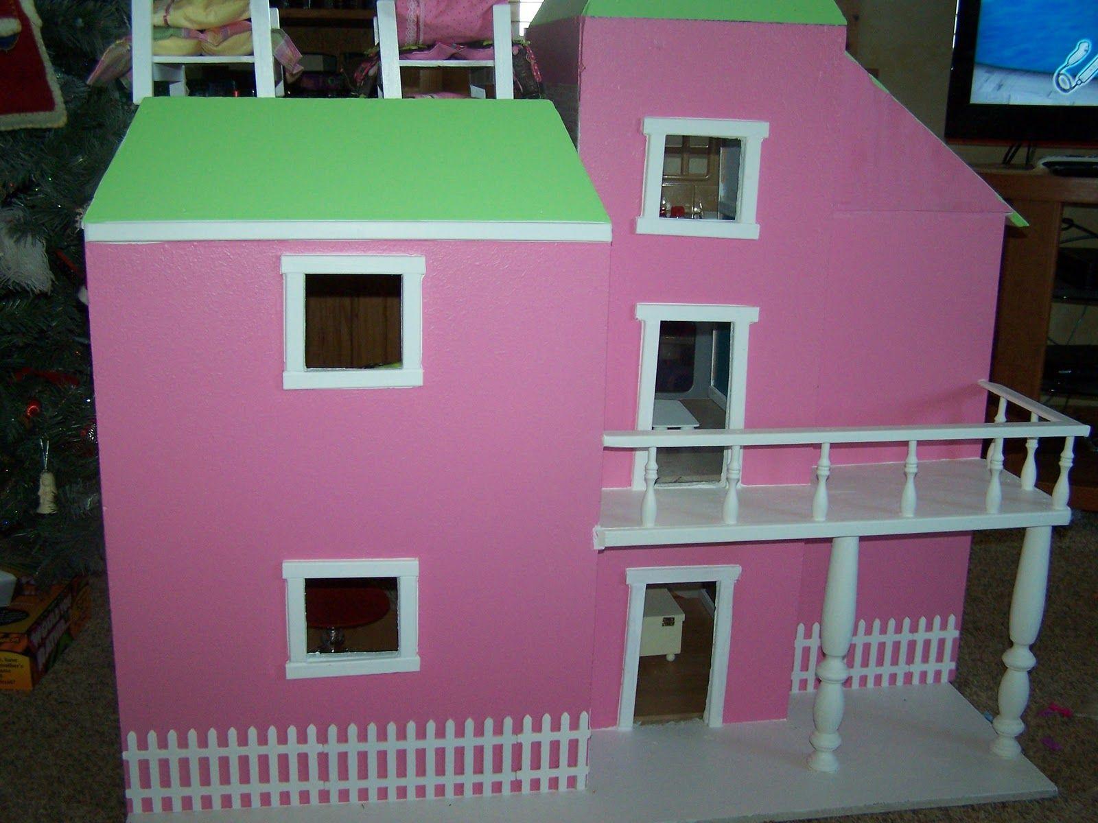 10 Awesome Barbie Doll House Models - Mommy s menu homemade barbie house