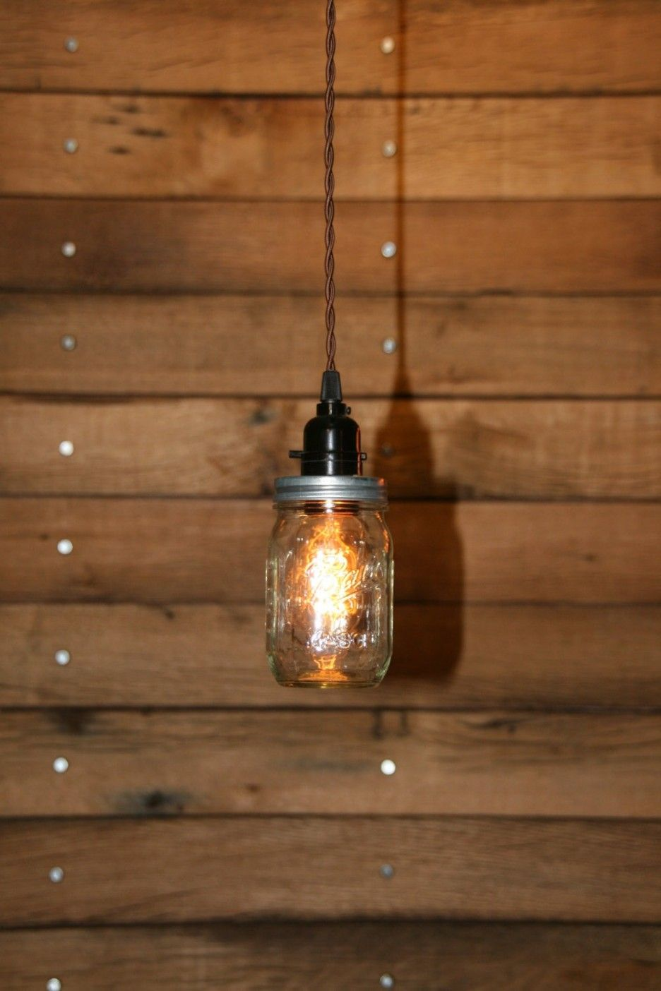 Lighting delectable design home mason jar pendant lights ideas ball jar pendant light mason jar light hanging mason jar hanging pendant light clear pint swag light by industrialrewind on easyde with red aloadofball Gallery