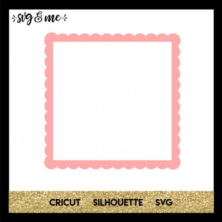 Download Scalloped Border | Card making, Pattern design, Cricut