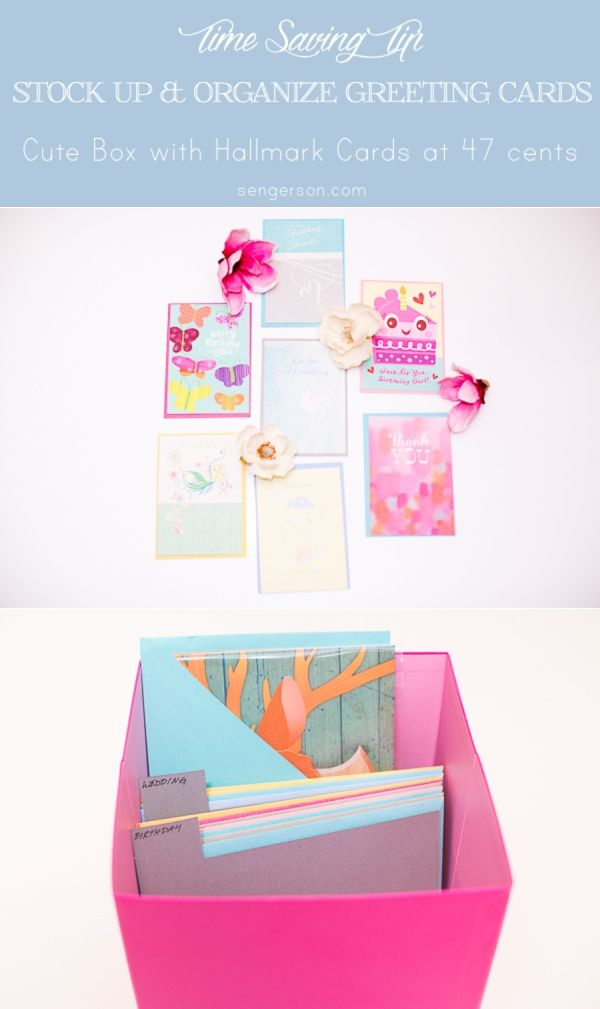 Box For Greeting Cards