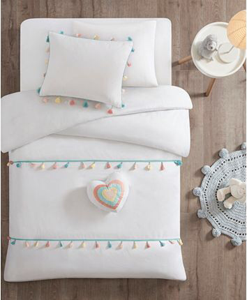 Photo of Mi Zone Tessa Twin 3 Piece Tassel Comforter Set & Reviews – Bed in a Bag – Bed & Bath – Macy's