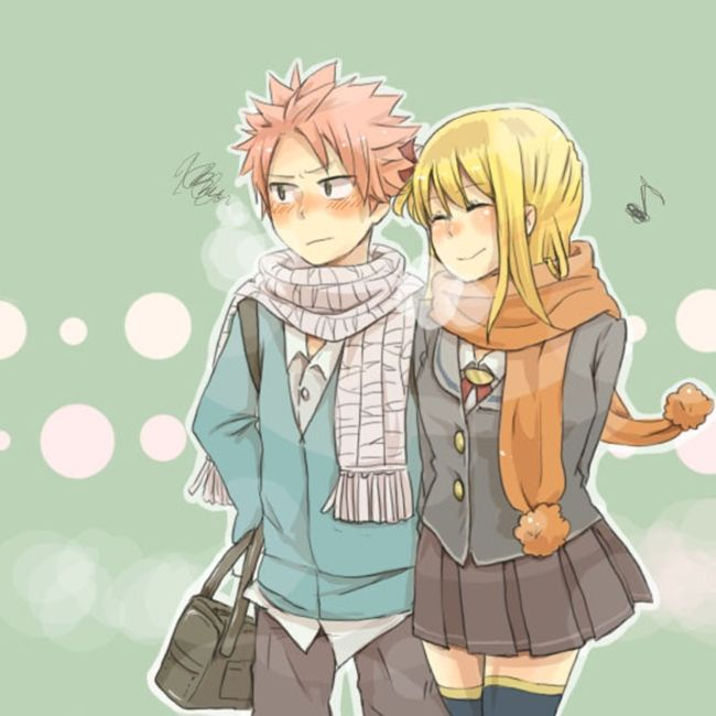 Fairy Tail  Natsu Lucy Couple