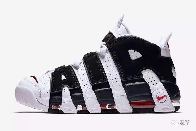 the latest 296b9 12e6c Nike Air More Uptempo Scottie Pippen Shoes OG White Black Panda