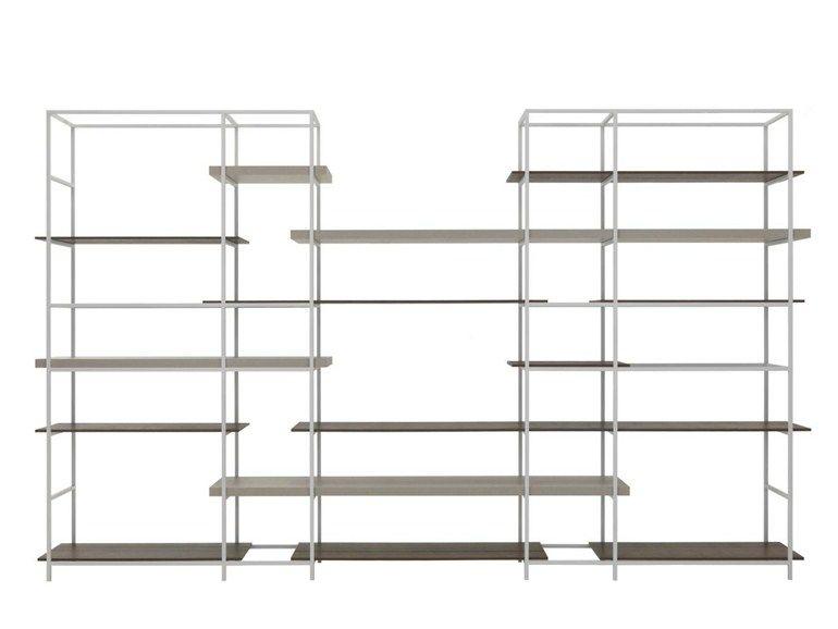 regal aus metall plain by lema design francesco rota regale. Black Bedroom Furniture Sets. Home Design Ideas