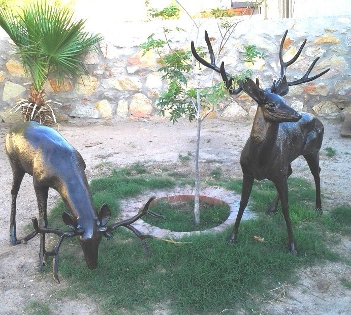 Garden Decor Deer: Awesome Deer Statues For Your Lawn Or Garden. Click To See