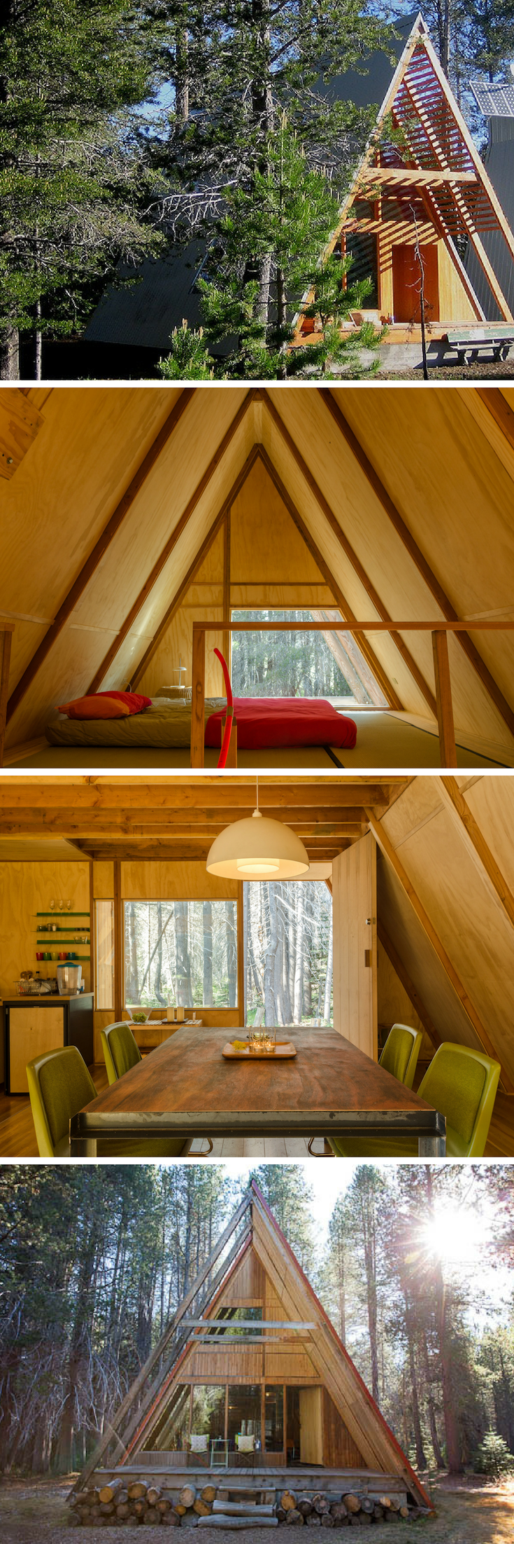 AFrame Cabin Rental near Yosemite National Park