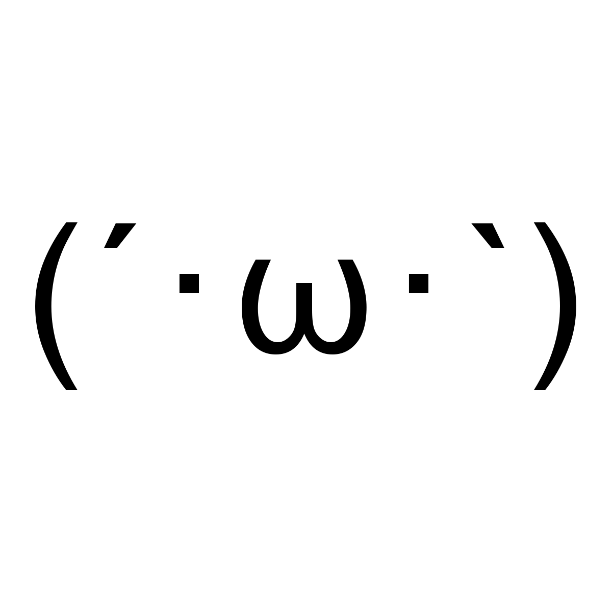 Lists of Japanese emoticons, text faces, dongers, and