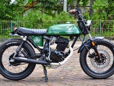 Gambar Modifikasi Sepeda Motor Jadul Modifikasi Motor Honda Gl Pro Rasa Jepang Jepang Honda Cb Honda