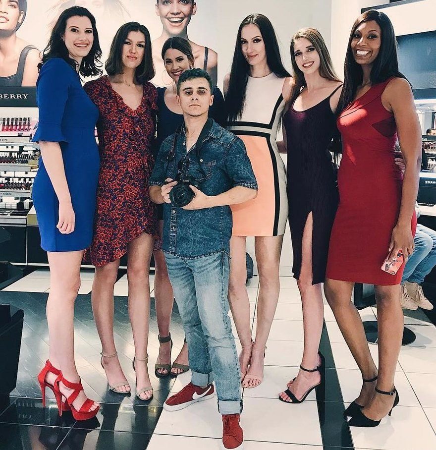 178cm 5ft10 Alex And The Tallest Models In Hollywo By Zaratustraelsabio Tall Women Tall Girl Women