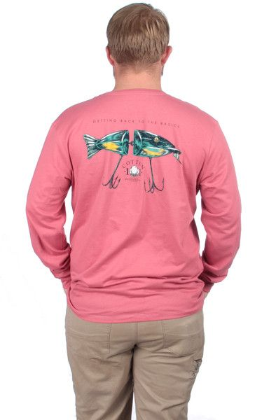 Lure Long Sleeve - Rustic Red Back
