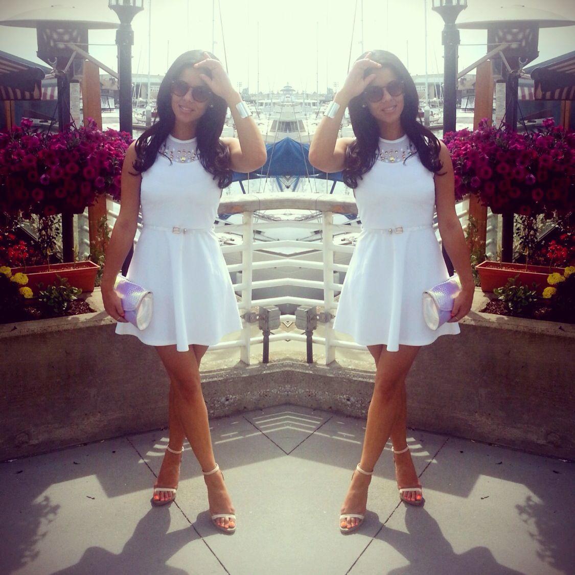 {Little white dress}