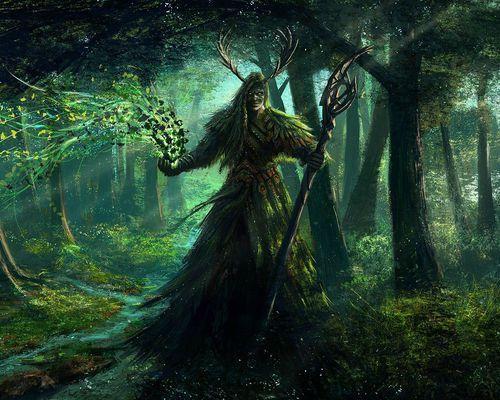 """""""O Deus Cornífero"""", Cernunnos, o deus fálico da fertilidade, geralmente é representado na forma de um homem com chifres (símbolos de luz e sabedoria pelos antigos), cascos e orelhas de veado, apresenta barba e cabelos longos, adornado com uma gargantilha, representando o símbolo celta da nobreza. Seus chifres sugerem que ele seja um deus da fertilidade e, para reforçar essa mensagem, era frequentemente associado à cornucópia (corno da abundância), às grutas e vasos de cereais."""