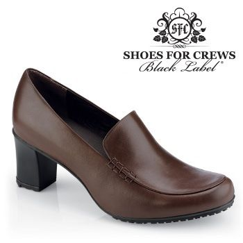 Comfortable women's brown dress shoes