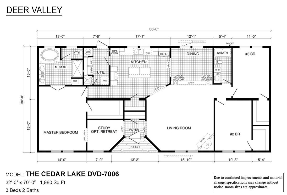 Deer Valley Series Of Homes Deer Valley Homebuilders Floor Plans Building A House Modular Home Floor Plans