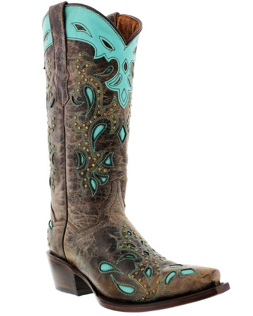 Cowboy Professional Boot Company Women's Catania Brown