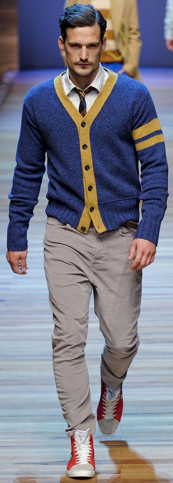 Dolce and Gabbana menswear