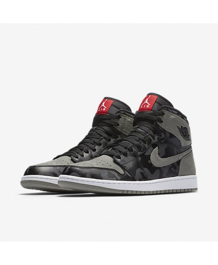 65f55faacee Air Jordan 1 Retro High Premium Black Dark Stucco White Black AA3993-034