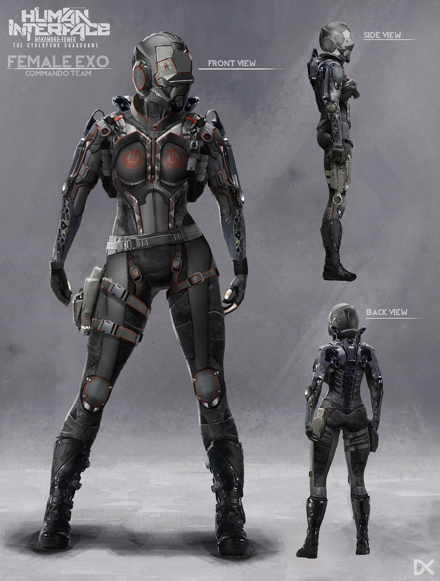 Pin by Tunc Tiryaki on Fantastik | Cyberpunk character, Game