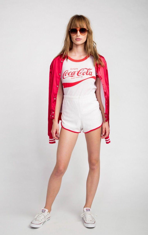 Wildfox Couture Coca-Cola Vintage Ringer Tee