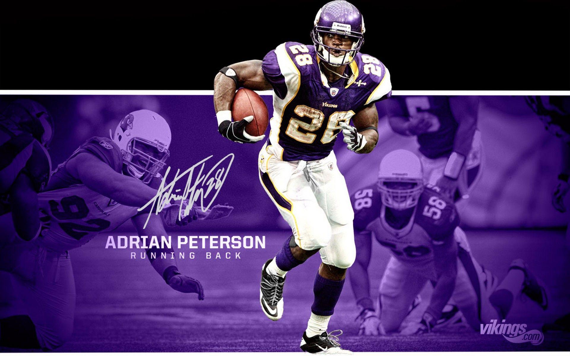 Minnesota Vikings RB Adrian Peterson Minnesota vikings