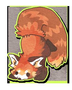 Chibi Red Panda By Griffsnuff On Deviantart Panda Art Red Panda Cute Drawings