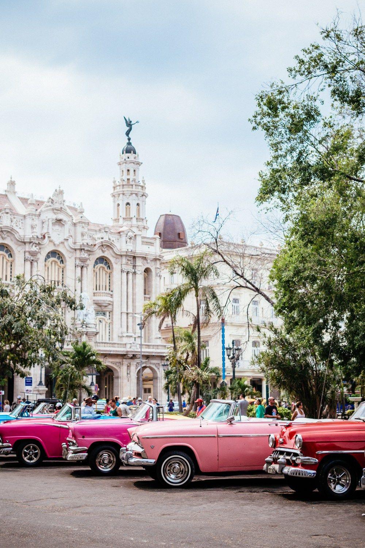Обои куба, havana, ночь, Old Havana, Гавана. Города foto 8